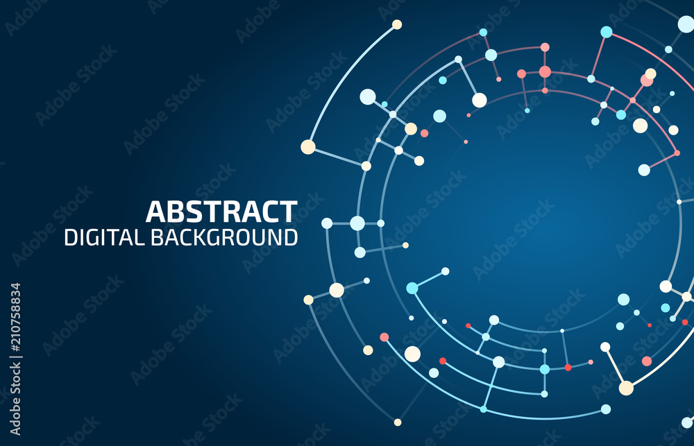 Fototapety, obrazy: Abstract vector background