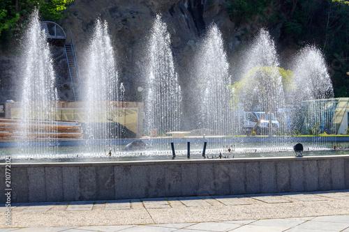 Papiers peints Fontaine Fountain in Rike park,Tbilisi, Georgia