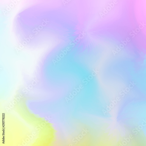 Watercolor Paint Mixing On Wet Surface Soft Abstract Background In Aqua Color Style Resizable