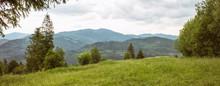 Panorama Of The Carpathian Mou...