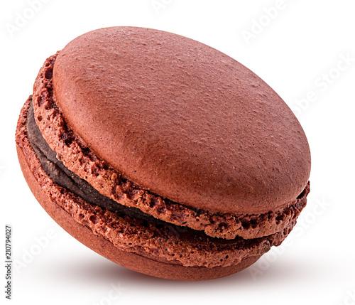 Montage in der Fensternische Macarons Sweet chocolate macarons