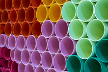 The Colors And Patterns Of PVC...