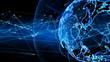 canvas print picture - グローバルネットワーク