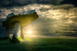 canvas print picture - Lanyon Quoit
