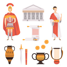 Traditional Symbols Of Ancient...