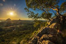 Sunset Seen From Mt Tibrogarga...