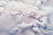 Abstract Background Of Clouds ...
