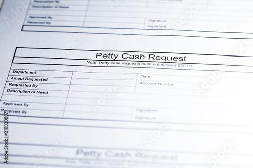 petty cash request business document cash request paper buy