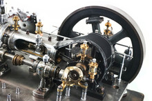 Steam Engine Isolated