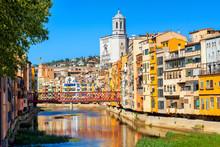 Girona Old Town, Catalonia, Spain
