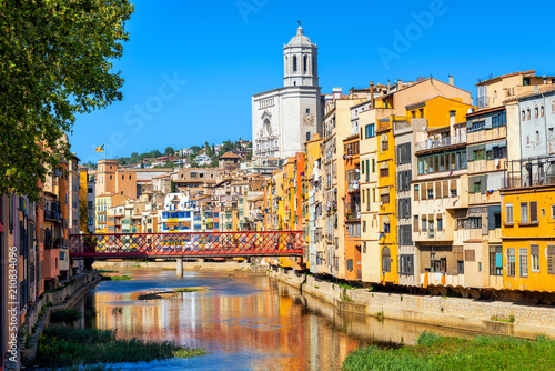 Girona Old Town, Catalonia, Spain