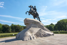 Monument To Peter The Great On Senate Square, St. Petersburg, Russia
