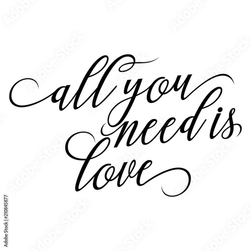 Photo  all you need is love - lovely Concept