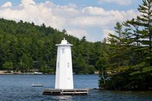 Herrick Cove Light On Lake Sun...