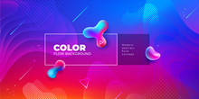 Liquid Color Background Design...