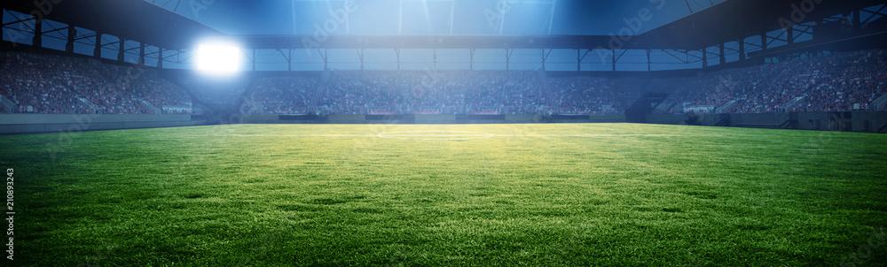 Fotografía  Fussball Stadion