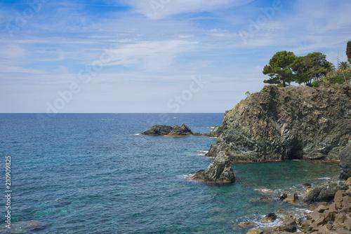 Poster Kust Ligurian Coast of Levante - Levanto - Italy