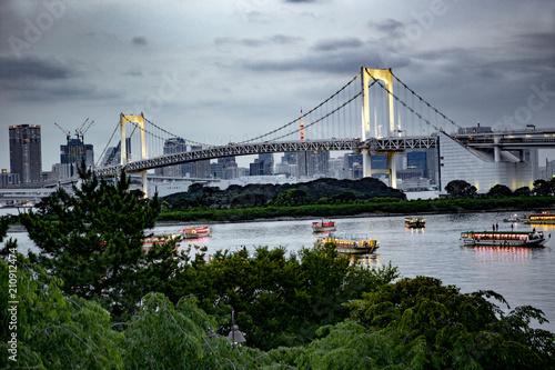 Plakat Tęczowy most w Tokio