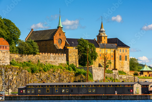 Akershus Fortress, Oslo, the capital of Norway Poster