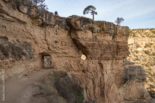 Fotografie, Obraz  Upper Tunnel on Bright Angel Trail, Grand Canyon National Park, Arizona, USA