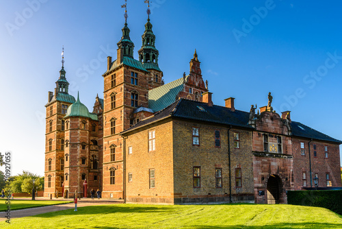 Rosenborg Castle, is a renaissance castle located in Copenhagen, Denmark Wallpaper Mural