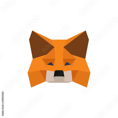 Fox Origami Icon Vecot Eps 10 Buy This Stock Vector And Explore