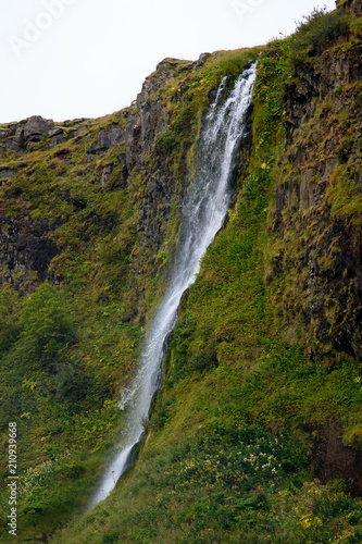 Foto op Aluminium Oceanië Seljalandsfoss, a waterfall in South Region of Iceland