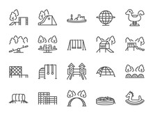 Playground Icon Set. Included ...