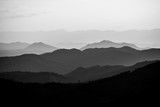 Beautiful landscape layer of mountains in sunset time, North of THAILAND - 210943446