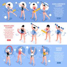 Aqua Aerobics Isometric Horizo...