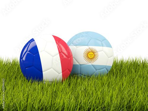 Fotografía France vs Argentina