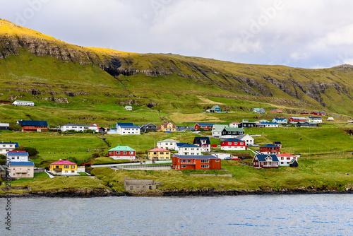Foto op Aluminium Oranje Faroe Island, Kingdom of Denmark