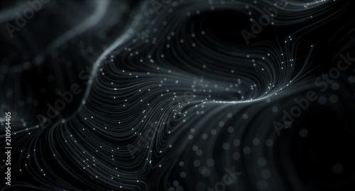 Fotografie, Obraz  3D Topographic map background concept