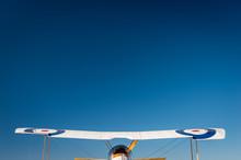 Wing Span Of A WWI Biplane Aga...