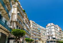 Moorish Revival Architecture In Algiers, Algeria