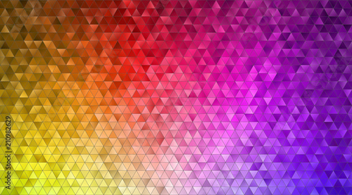 Foto op Plexiglas Abstract wave mosaic background texture