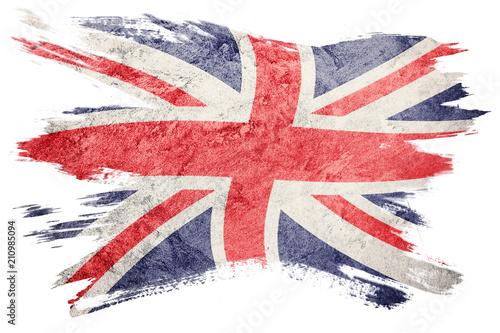 Grunge Great Britain flag Wallpaper Mural