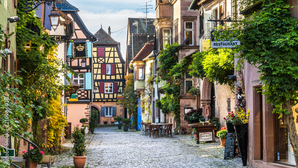 Fototapeta Alsace