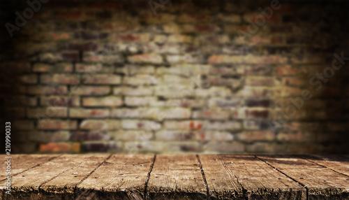 Fotografía  Empty table background