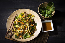 Asian Mincemeat Salad With Mac...
