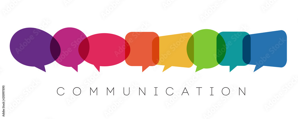 Fototapety, obrazy: speech bubbles, communication concept, vector illustration