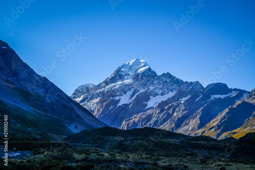 Deurstickers Oceanië Aoraki Mount Cook landscape, New Zealand
