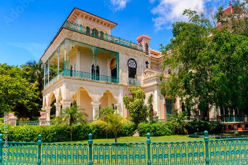 Architecture of Cienfuegos, Cuba. Fototapeta