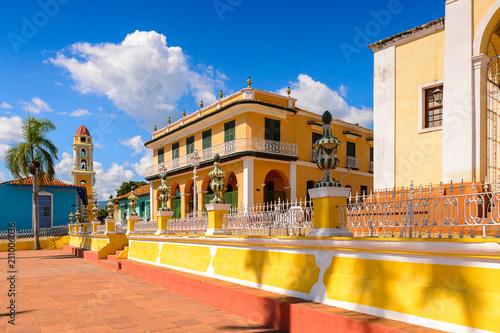 Plaza Mayor of Trinidad, Cuba. UNESCO World Heritage Tablou Canvas