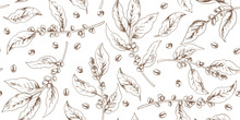 Botanical Seamless Pattern Wit...