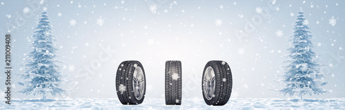 Valokuva  Winter Tires