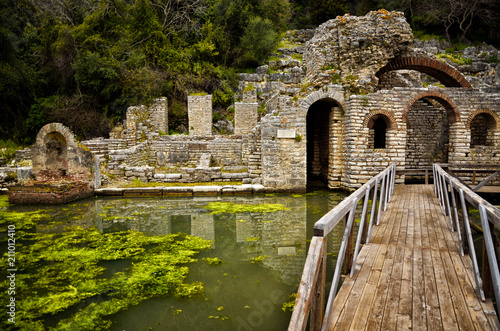 Photo Butrint is the Albania's major archaeological centers