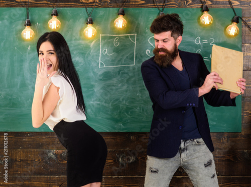 Class room sexy