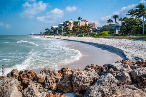 Naples, Florida Shoreline Fototapet