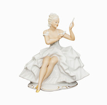 Porcelain Figurine Of A Girl I